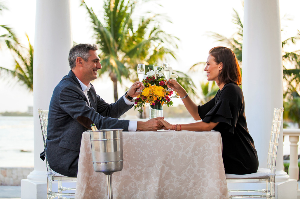Romantic Dinner on the Beach or Gazebo